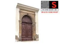 old city gate 8k 3d max
