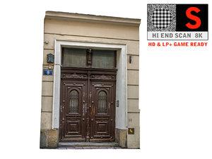 3d model old city gate 8k