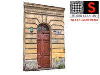 old city gate 8k 3d obj