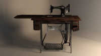 Old sewing machine (singer sphinx)