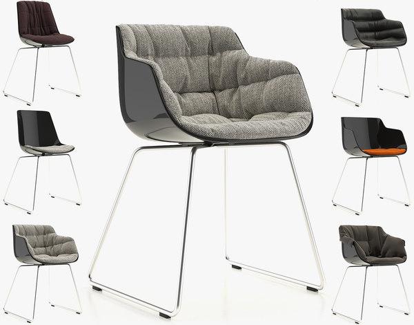 3d chair flow slim model