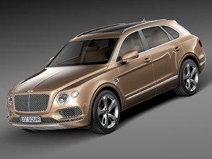 3d 2015 car model