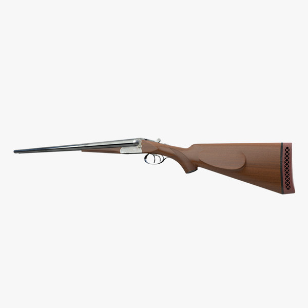 3d model shotgun gun