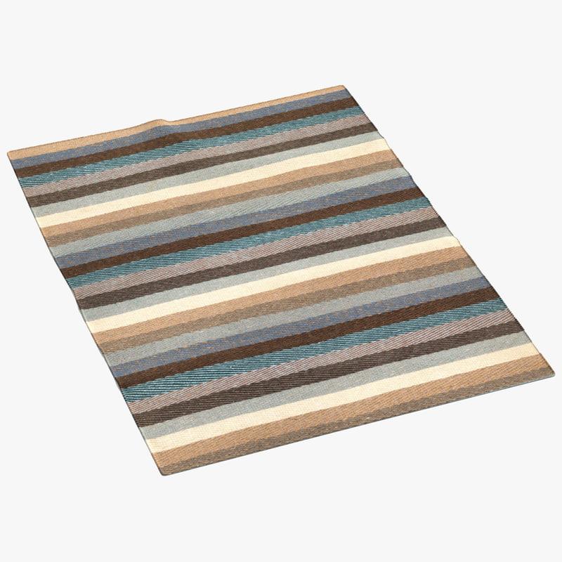 liniedesign caravan brown rug max