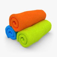 Towel Roll 3 Colors