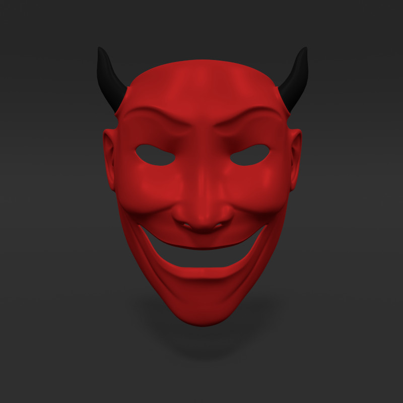 3ds asian mask