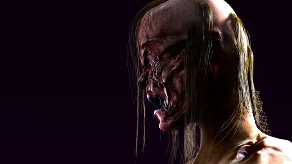 3d zombi dead walk model