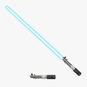 3d star wars anakin skywalker model