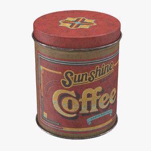 max vintage kitchen tin coffee