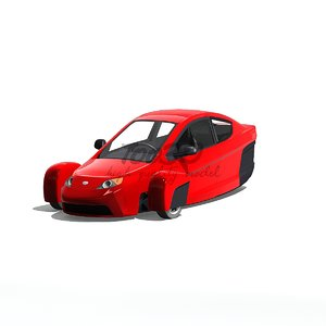 3d elio concept model