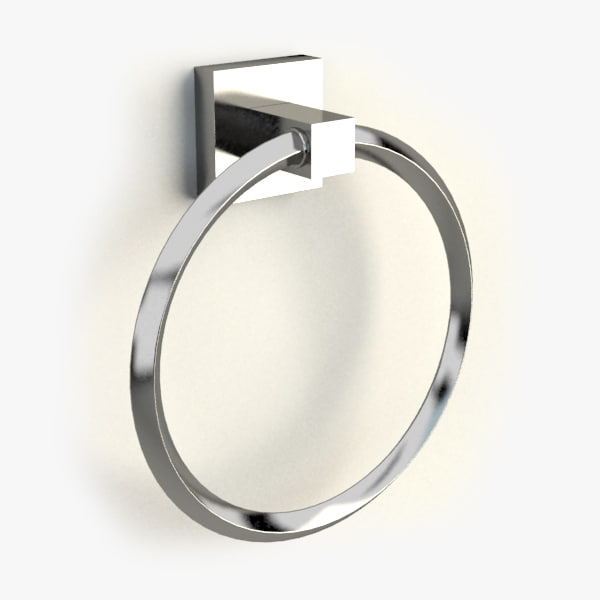 towel ring 3d max