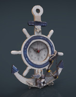 ANCHOR CLOCK DECORATIVE