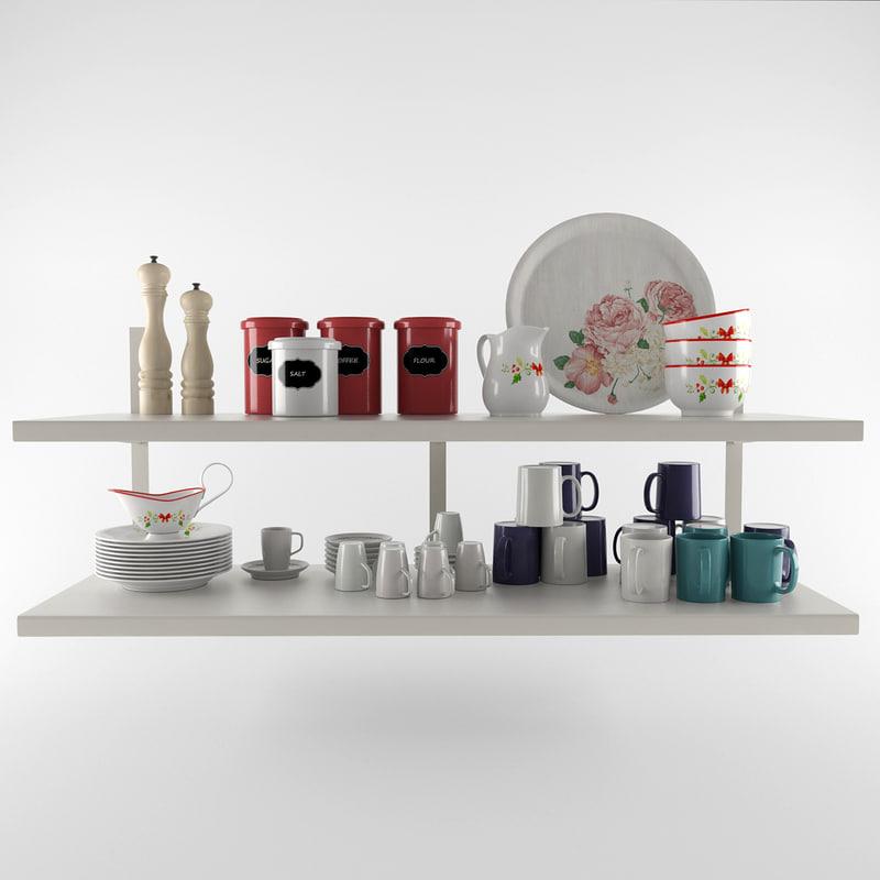 kitchen set 3d max