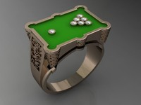 biliard pool ring