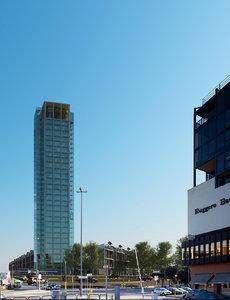3d model city buildings skyscraper