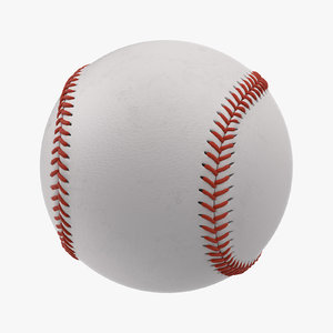 baseball base 3d obj