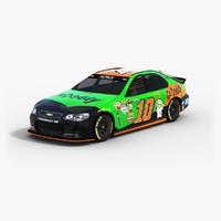 3d model nascar stewart-haas racing 2015