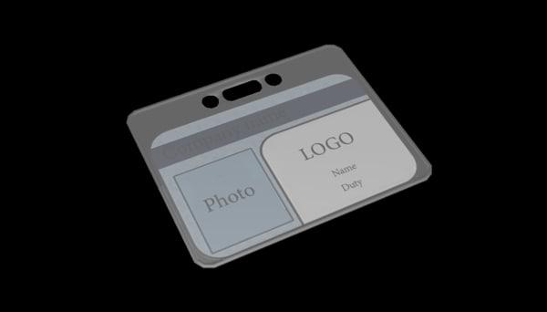 employeer badge 3ds free