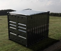 10FT ISO Shipping Container - Solared Survivor