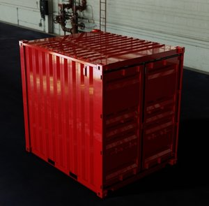 dwg - 10ft iso shipping container
