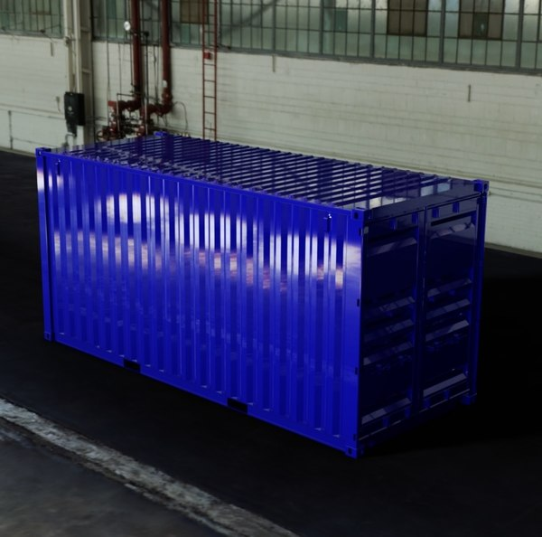 - 20ft iso shipping container dwg