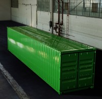 40ft iso shipping container 3d model