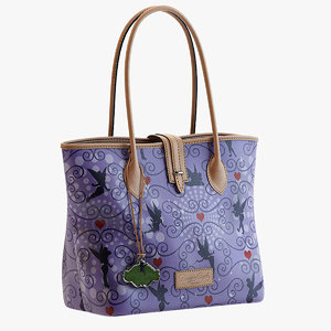 dooney bourke tote 3d model