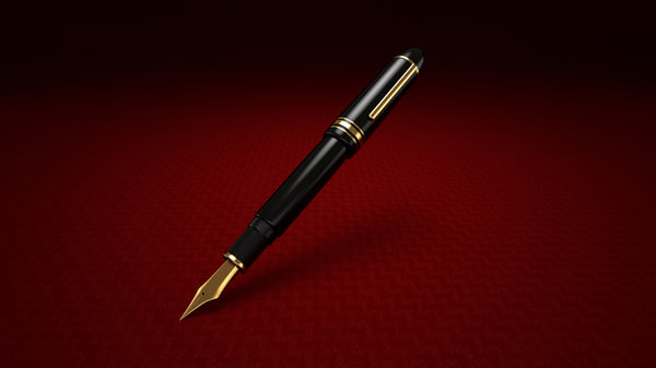 fountain pen 3d model