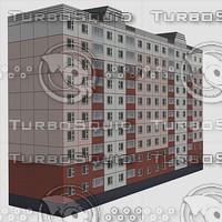 3d model of house street
