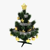small christmas tree 3d model