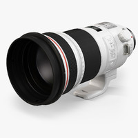3d model canon ef 300mm f