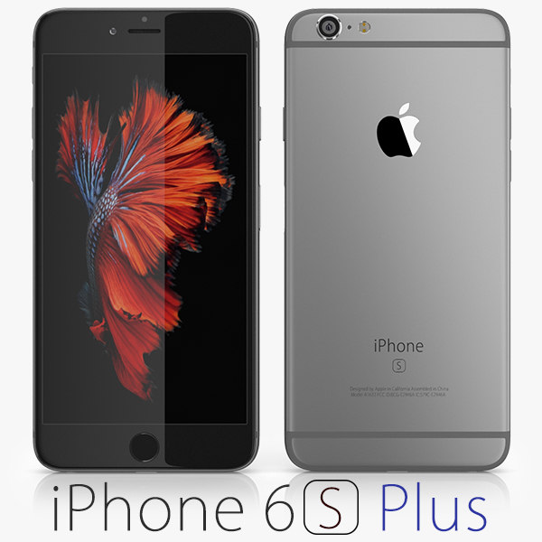 3d apple iphone 6s model