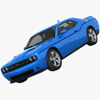 3ds dodge challenger sxt