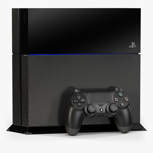 3d model of sony playstation 4 stand