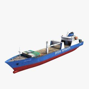3d ark futura ship