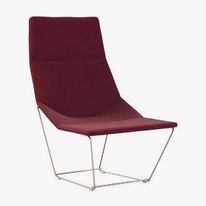 3d furniture lounge model