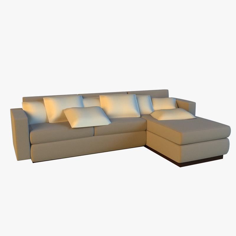 simple cloth corner sofa max