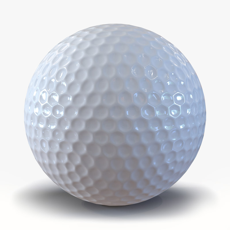 golf ball generic 3d obj