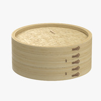 Large Bamboo Steamer