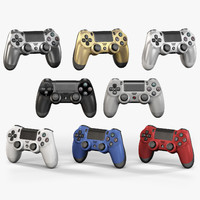 3ds max sony playstation 4 controller