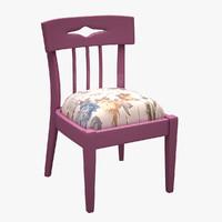chair bsm 3d max