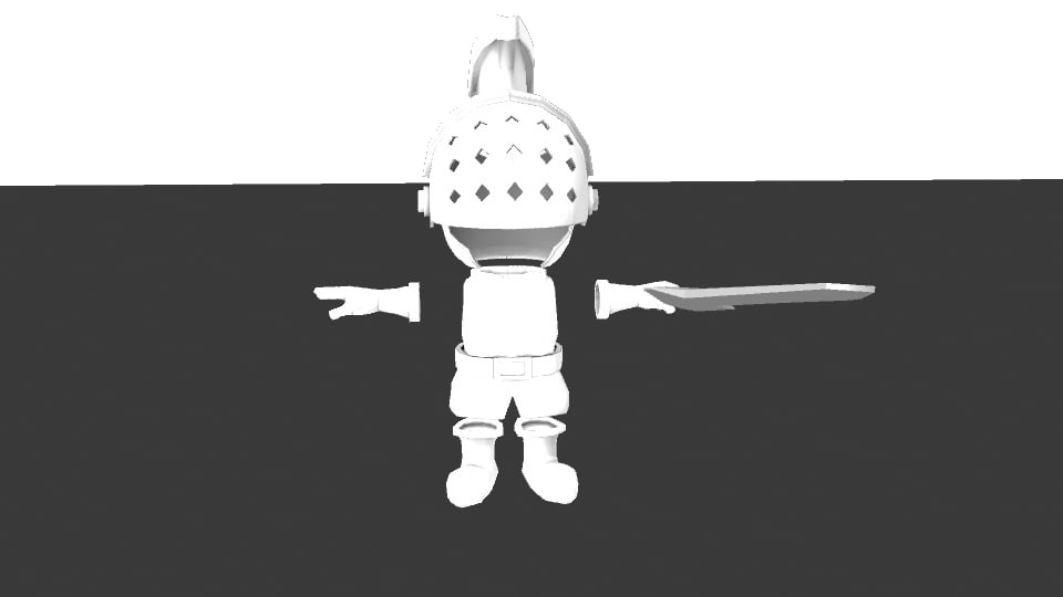 charater 3d model