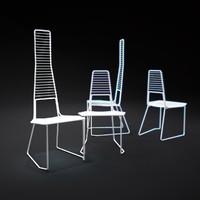 alieno-chair 3d model