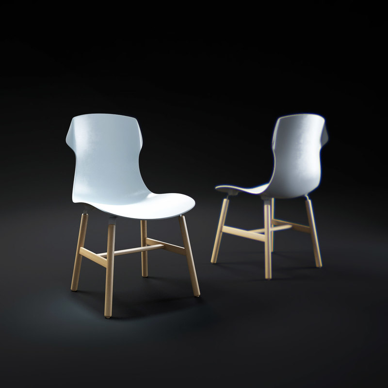 max stereo-wood-chair