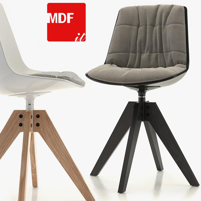 3d model chair vn 4-legged