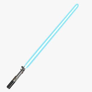 star wars anakin skywalker 3d model