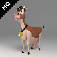 max cartoon cow