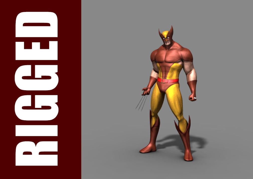 wolverine rig 3d ma