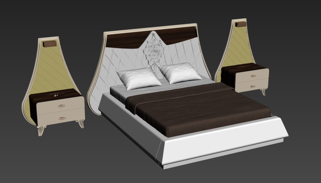 3d bed table