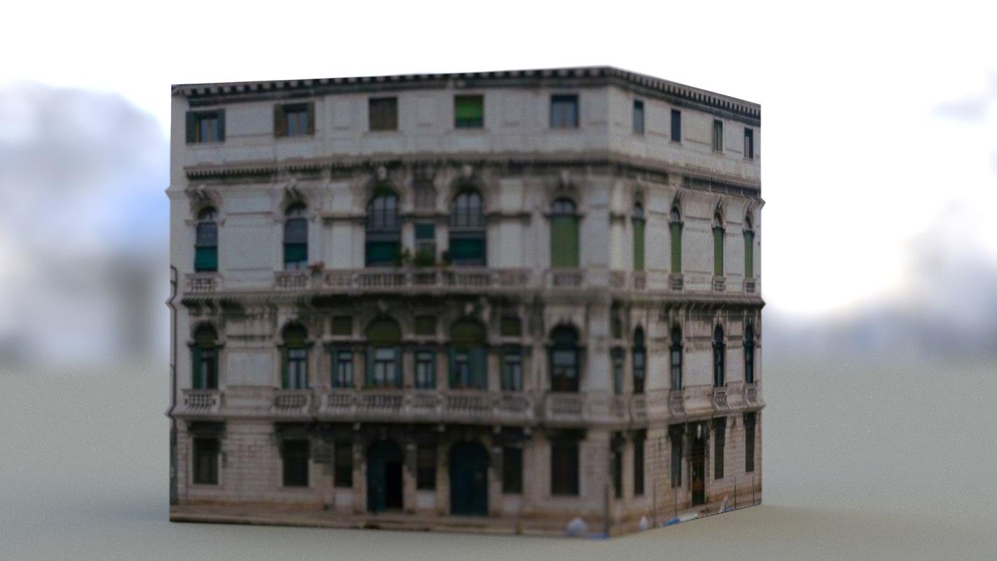 3d model gothic building